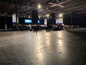 Tiny crowd at Tory launch event 2019