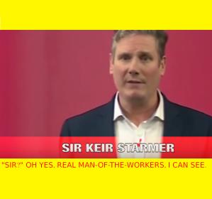 Sir Keir - the egalitarian